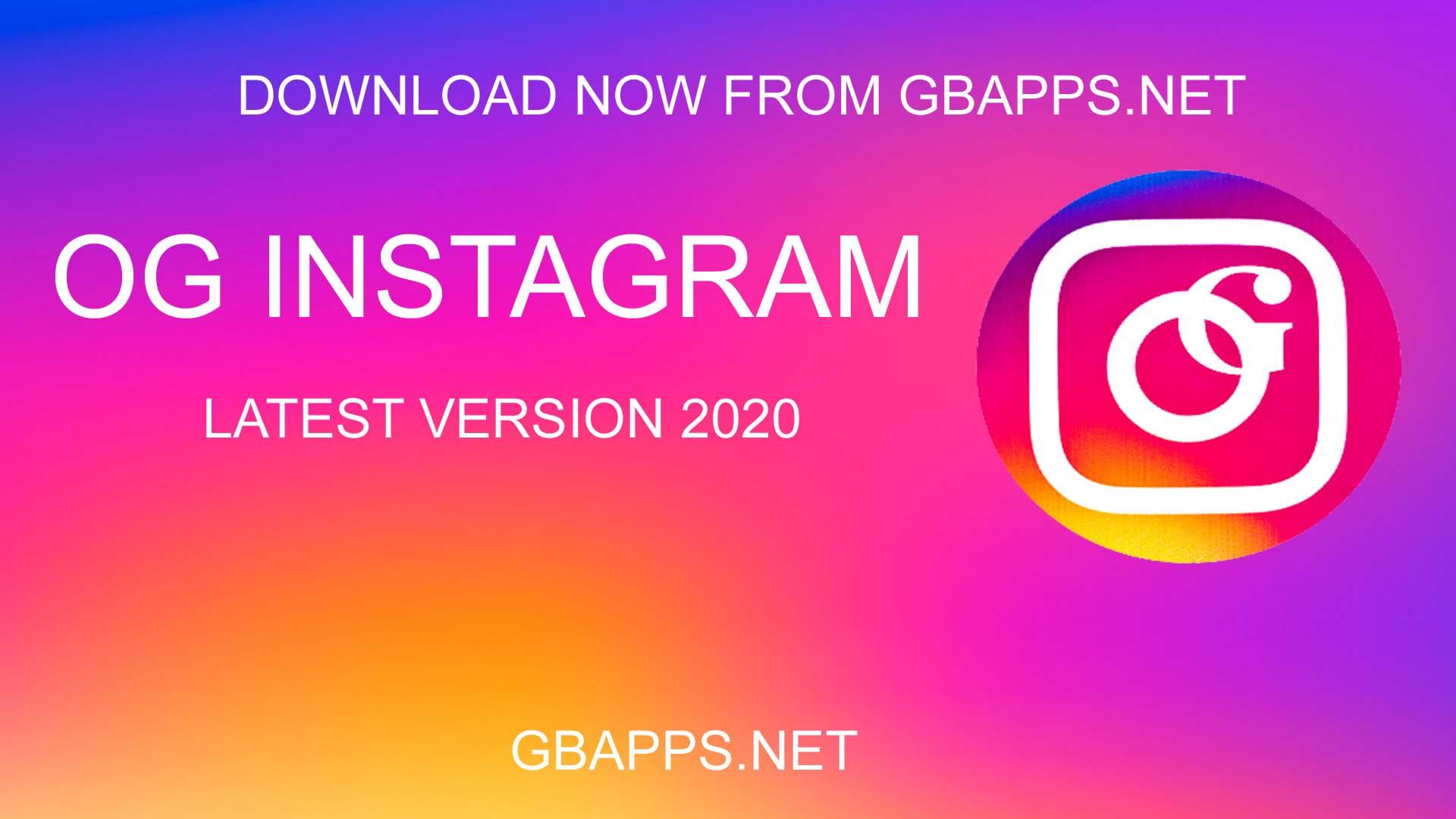 OG Instagram Apk Descarga 10.15 (Oficial) Última versión 2020